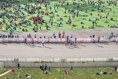 Munich maraton Fotografering för Bildbyråer