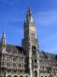 Munich Marienplatz. City hall in Germany Stock Images