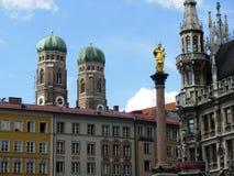 Munich Marienplatz Royalty Free Stock Photo