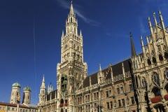 Munich Marienplatz, City Center Stock Photo