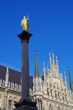 Munich Marienplatz Royalty Free Stock Images
