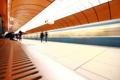 Munich Marienplatz station Royalty Free Stock Photos