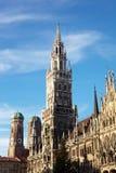 Munich Neues Rathaus foto de stock