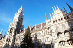 Munich Neues Rathaus Stock Image