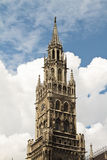 Munich New Town hall Royalty Free Stock Images