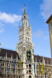 Munich new town hall Stock Images