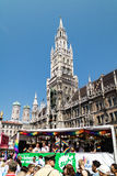 Munich new town hall Stock Photography