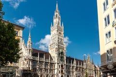 Munich New Town hall Stock Photo