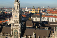 Munich New Town Hall Royalty Free Stock Photo