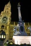 Munich at night Stock Photography