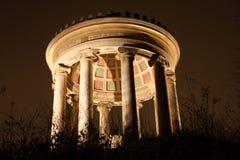 Munich by Night. Englischer Garten in the city of Munich, Germany Royalty Free Stock Photo