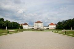 munich nymphenburgschloss Arkivfoto