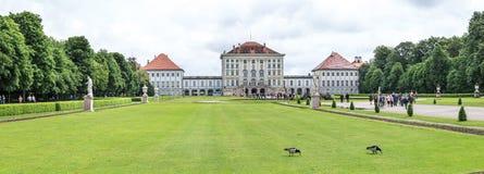 munich nymphenburgslott Royaltyfri Foto