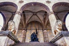 Munich - odeonsplatz Stock Photo