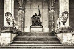 Munich - odeonsplatz Royalty Free Stock Photos