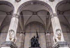 Munich - odeonsplatz Stock Photography