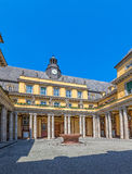 Munich old building courtyard Royalty Free Stock Image