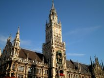 Munich Old Town. A beautiful building in Munich old town stock image