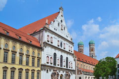 Munich Old Town Royalty Free Stock Image