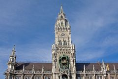 Munich Old Town Hall Stock Photos