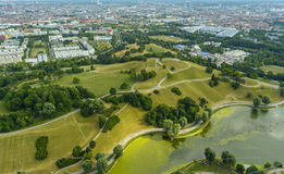 Munich Olympia Park Royalty Free Stock Photography