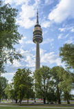 Munich Olympia Tower Stock Images