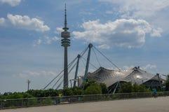 Munich,  Olympia-zentrum Stock Photos