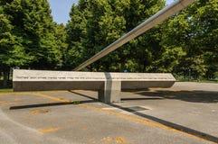 Munich,  Olympia-Zentrum  Memorial Royalty Free Stock Photography