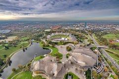 Munich Olympiapark Arkivfoton