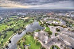 Munich Olympiapark från Royaltyfria Bilder