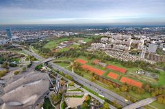 Munich Olympiapark Stock Image