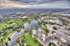Munich Olympiapark from Royalty Free Stock Images