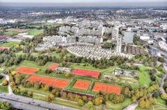 Munich Olympiapark Stock Photography