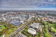 Munich Olympiapark Royalty Free Stock Photos