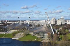 Munich Olympiapark Stock Photography