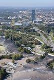 Munich Olympic park Royalty Free Stock Photo