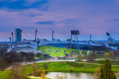 munich olympic stadion Arkivfoto