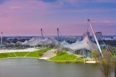 munich olympic stadion arkivbild
