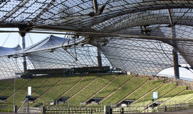 Munich Olympic stadium Royalty Free Stock Images