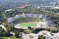 Munich Olympic Stadium Royalty Free Stock Image