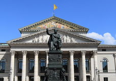 Munich opera house Stock Photos