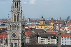 Munich overall view Royalty Free Stock Photo
