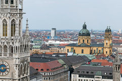 Munich overall view Royalty Free Stock Photos