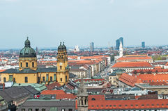 Munich overall view Royalty Free Stock Image