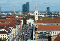 Munich overall view Stock Photography
