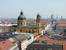 Munich Panorama Stock Photo
