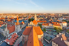 Munich Panorama Stock Image