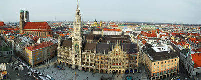 Munich Panorama stock photos