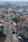 Munich panorama Royalty Free Stock Images