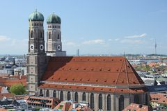 Munich panorama Stock Images